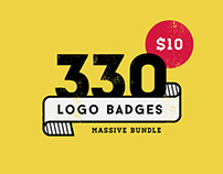 330 Logos Bundle Only $10