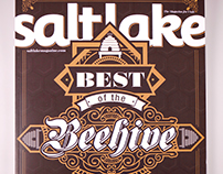 Salt Lake Magazine / Best of the Beehive Illustrations