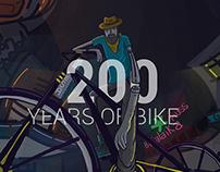 200 Años de la bicicleta