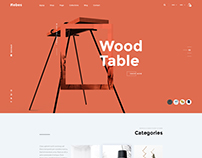 Wood Table - Ecommerce Theme