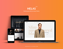 Helas - Clean, Minimal PSD Templates