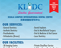 KLIDC Services & Facilities Flyer Design