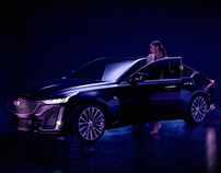 Cadillac CT5 Social media launch