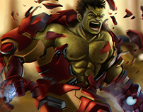 Hulkbuster SMASH !