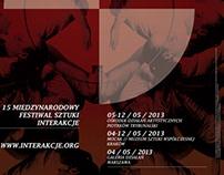 Interakcje / poster + leaflet