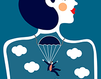 Clouds and parachutes