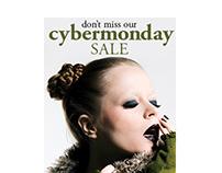 Cybermonday Web Advertisement