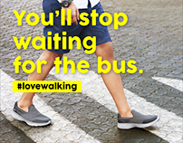 Sketchers Campaign - LoveWalking