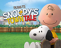 Snoopy's Town Tale UI