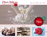 Flour Child Cafe - Responsive Website