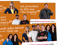 Skyline Surgery Center billboard campaign