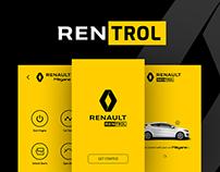 Rentrol iOS app concept
