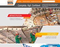 Proposta para site da Mills