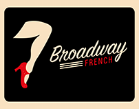 Broadway French /// identité visuelle