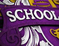 E4 'School of Comedy' - Promo Graphics
