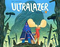 Ultralazer Comic Book Cover