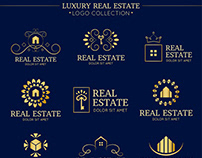 Luxurious Real Estate Logo Design | Top Logo Designs