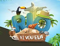 Campanha Pool Design Rio, aí vou eu!