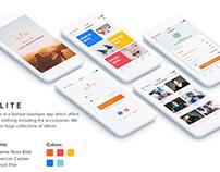 iOS fashion app