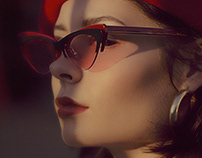 Bonnie Clyde® Eyewear | Layer Cake | Beauty Retouch