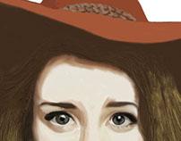 First Digital Painting Self Portrait