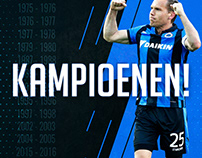 Social Media Graphics for Blauwzwartfans