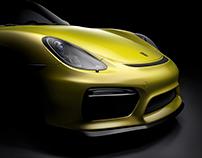 Porsche Cayman GT4_CGI