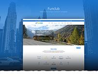 FUNCLUB - website