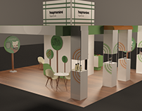 exhibition stand - Harmonica bio products