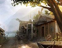 Viking village - DMP CG challenge