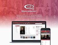 social media website relaunch
