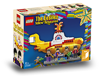 LEGO Goes Psychedelic with The Beatles Yellow Submarine