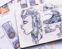 Sketch Book 14-15