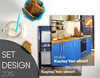Koçtaş Bathroom + Kitchen 2015 Catalog Photoshoot Set