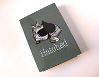 Hatched Playing Cards