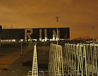 RUN, London Olympics for Monica Bonvicini