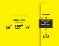Dona Beatriz - Queijo/Cheese Branding & Packaging