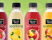 Minute Maid Sparkling Digital Static Banners