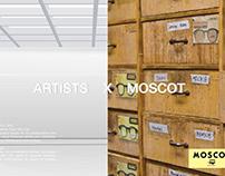 Artists x Moscot