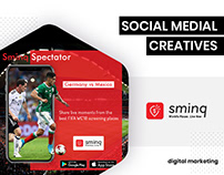 Social Media - Sminq by BrandzGarage