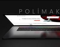 Polimak Web Arayüz Tasarımı