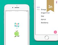 Food Story iOS app