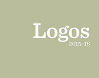 Logos Design 2015–16