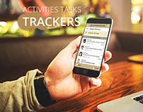 iPhone Activities tracker pro design