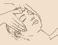 SPA Massage menu trifold