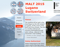 Logo for MALT 2015
