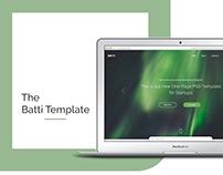 Batti Template UI Design