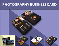 Photography & Studio Business Card