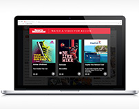 Gatorade - #BeLikeMike Remix / UX for Selectable Media