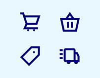 Shopicons – Free E-Commerce Icon Set